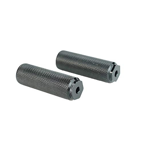 Konesky 1 Pair Rear Pedal Pegs for Xiaomi M365 /Pro Electric Scooter, Rear Feet Rest Pad Back Pedal Replacement Load Bearing 330lbs/150kg