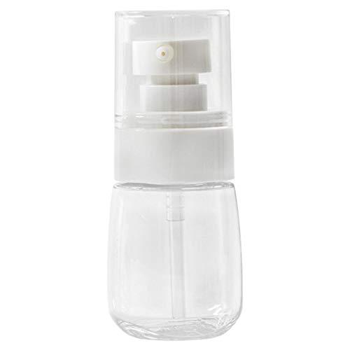 30/60ml botella de aerosol vacía portátil recargable loción contenedor de maquillaje, vacío plástico transparente maquillaje viaje pequeño contenedor