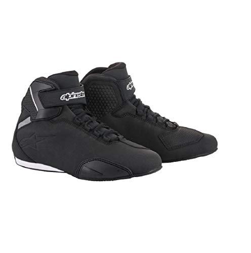 Alpinestars 25155181011 Men's Sektor Street Motorcycle Shoe, Black, 11