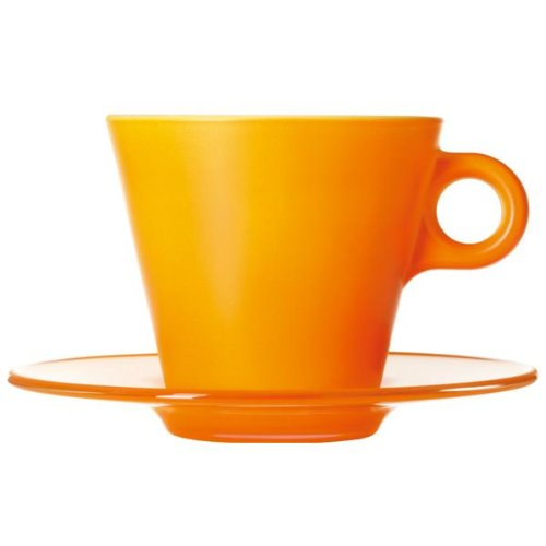 Leonardo Manufacturer direct delivery 012270 Ooh Magico Color Cappuccino Cup Set Or National products Changing