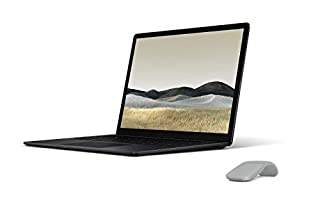 Microsoft Surface Laptop 3, 13,5 Zoll Laptop (Intel Core i5, 8GB RAM, 256GB SSD, Win 10 Home) Schwarz + Surface Arc Maus Platin Grau (B084HCBB9P) | Amazon price tracker / tracking, Amazon price history charts, Amazon price watches, Amazon price drop alerts