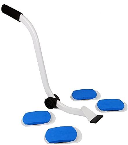 Transporte azul Conjunto de muebles del sistema Muebles levantador de elevación pesada y Sistema de palancas delta herramientas portátiles de mudanza para el hogar Jack Moving