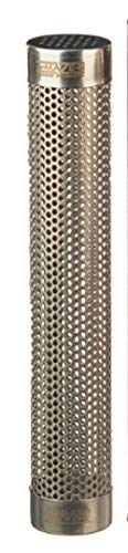 A-MAZE-N AMNTS12 Oval Pellet Tube Smoker, Hot or Cold Smoking, 12 Inch