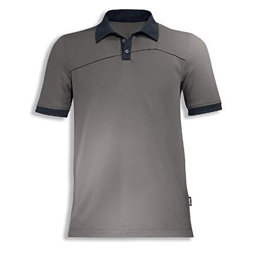 Uvex Perfexxion Herren-Arbeitsshirt - Beiges Männer-Poloshirt - Moderner Schnitt 6XL