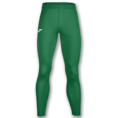 Joma Academy Pantalon Termico Caballero, Hombres, Verde, L-XL