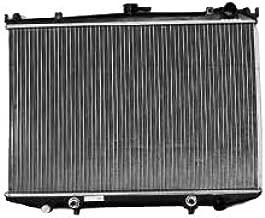 TYC 145 Nissan 1-Row Plastic Aluminum Replacement Radiator