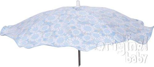 Parasol bébé Piqué + flexible universelle, pare-soleil