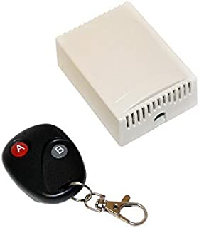 ALEKO LM137 Universal Gate Garage Door Opener Remote Control With Transmitter HomeLink Compatible