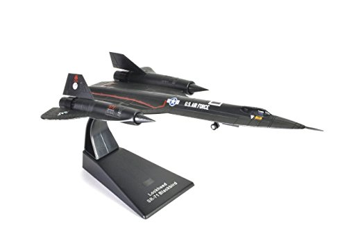 Atlas Lockheed SR-71 Blackbird US Air Force 1966-1990 Militärflugzeug, Bomber des Zweiten Weltkriegs 1/144 (Ref: Jet.4675103)