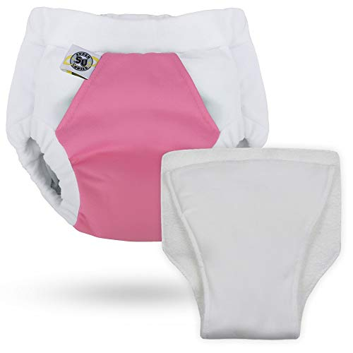 Hero Undies Bedwetting Overnight Protective Underwear (Size 3 (6-9yrs), Cupcake Queen)