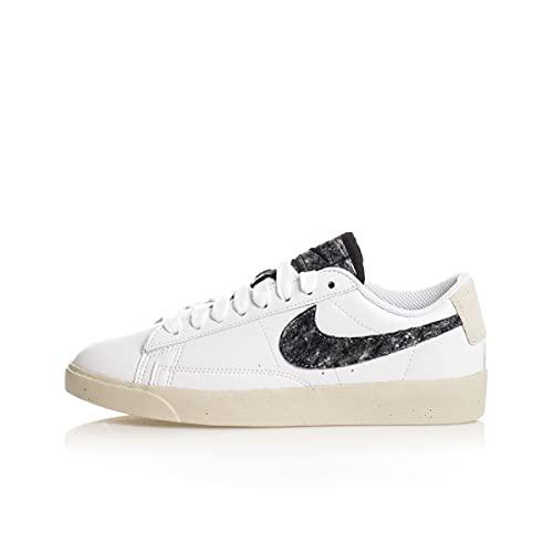 Nike W Blazer Low SE, Zapatillas de bsquetbol Mujer, White White White Black, 36 EU