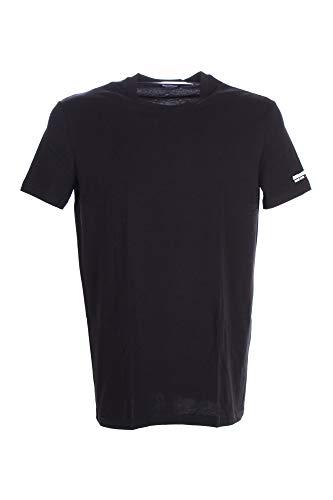 DSQUARED2 tshirt nera logata - m, bianco