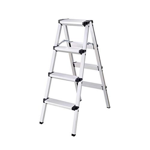 Escalera multifunción de aleación de aluminio, escalera móvil plegable, taburete para adultos 4.15, 40X74X97.7CM