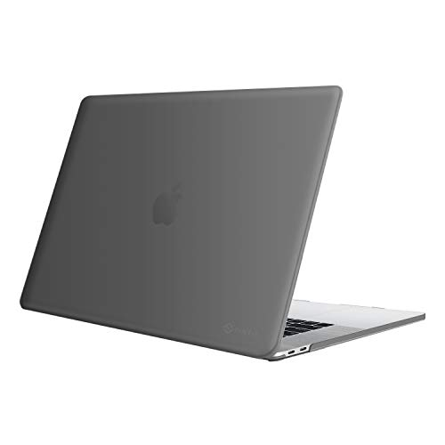 FINTIE Case for MacBook Pro 16 Inch (2019 Release) A2141 - Protective Snap On Hard Shell Cover for New MacBook Pro 16' Retina Display with Touch Bar and Touch ID, Grey