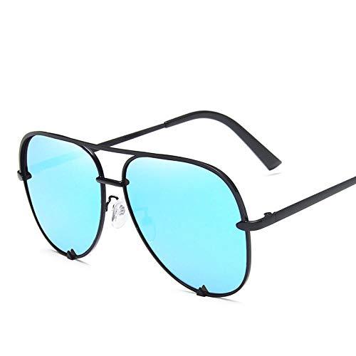 DLSM Gafas de Sol para Mujer Tonos Clásicos Vintage Gafas de Sol Conducción al Aire Libre para Hombres Mujeres Corriendo Ciclismo Pesca de Pesca Golf-C3 Azul