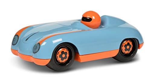 Schuco 450987700 Roadster Blue-Paul, my1stSchuco, Spielauto für Kinder 1 Jahr, Rennwagen Spielzeug ab 12 Monaten, blau/orange