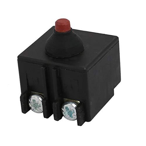 Aexit Interruptor de amoladora angular de ajuste de herramienta eléctrica negro para (model: R1053VIIO-8437SW) for bosch GWS6-100