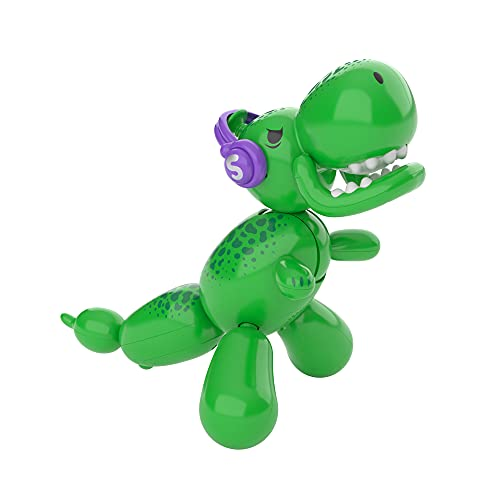 Squeakee The Balloon Dino   Interactive Dinosaur Pet Toy That Stomps, Roars and Dances. Over 70+ Sounds & Reactions., Multicolor (12310)