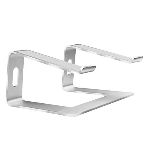 N-B Aluminum Removable Laptop Holder,Laptop Stand, Ventilated Notebook Stand Compatible For MacBook Pro/Air, 10-15.6