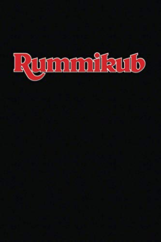 Rummikub: Score Book | Rummikub Lined Notebook (College-Ruled) | Perfect for Scorekeeping | Black