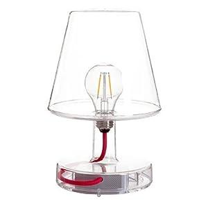 FATBOY DESIGN: Die Tischlampe Transloetje ist eine energieeffiziente LED Lampe, welche durch ihre schöne Retro-Ausstrahlung überzeugt. Die Glühbirnen-Imitation und außergewöhnliche Färbung des Glases sorgen dafür, dass die Lampe mit USB Anschluss von...