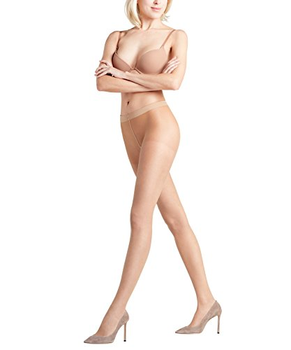 FALKE Damen Invisible Deluxe 8 DEN W TI Strumpfhose, ultra-transparent, Beige (Powder 4069), M-L