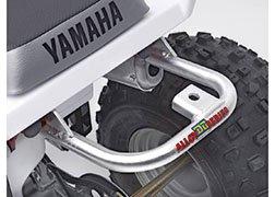 DG Performance 59-4212 - Alloy Grab Bar (Ball Burnished) for Yamaha Blaster 200 (1988-2006)