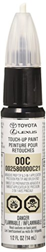 Genuine Toyota 00258-0000C-21 Clear Coat Touch-Up Paint Pen 1/2 FL OZ (14 ML)