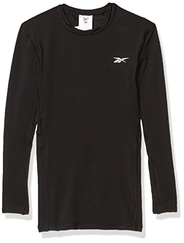 Reebok Workout Ready Compression Sleeve Solid, Black, Small