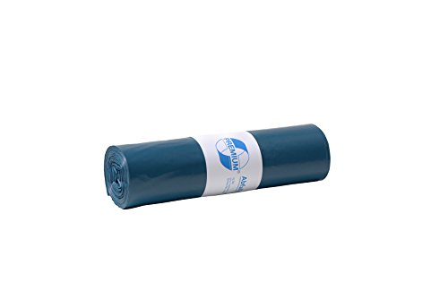 Bolsa de basura DEISS PREMIUM 70 litros, azules, tipo 60
