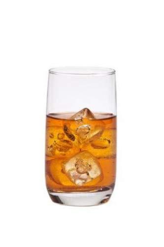 Set di pz Luminarc 'Marvelous' 340,2gram trasparente Highball Water, soda, succhi di frutta, cocktail bere bevande occhiali 340 g ca. Orange, Clear