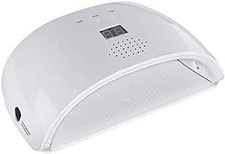 Lámpara UV para uñas de 48 W, luz de curado para uñas Lámpara LED para gel UV Lámpara para uñas Secadora de luz Sensor de ajuste de 3 temporizadores Bandeja desmontable para Polygel, esmaltes de