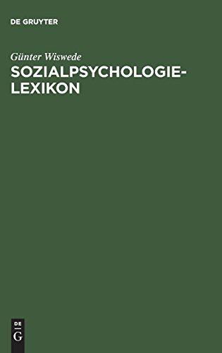 Sozialpsychologie-Lexikon