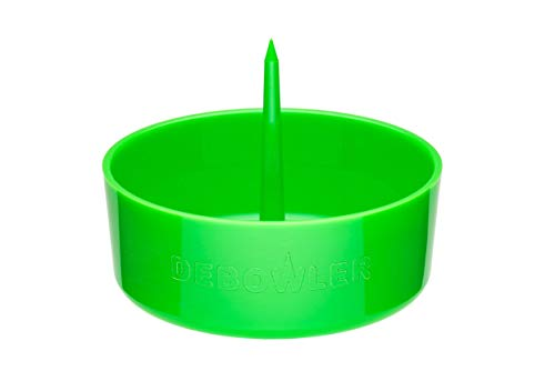 Debowler Original Ashtray Smoking Pipe Cleaning Tool - 2020 Version - Single (Leafy Green)