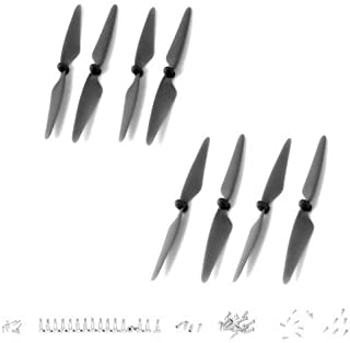 Hubsan H501S X4 RC Quadcopter FPV Helicopter Spare Parts Accessories Crash Pack CW & CCW Propellers Set Blades Kit H501S-31