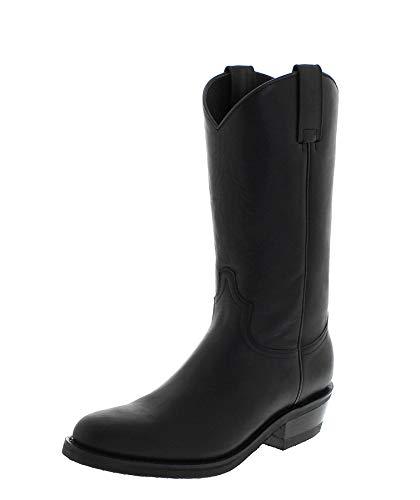 Sendra Boots Stiefel Diego 5588 Negro/Herren Cowboystiefel Schwarz/Westernstiefel/Reitstiefel, Groesse:47