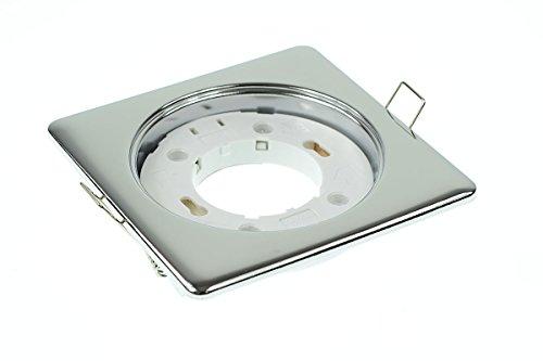 lumixon S1030GX53empotrar Marco Capacidad Magnete–Forma Chrome Brillante para LED y halógenas