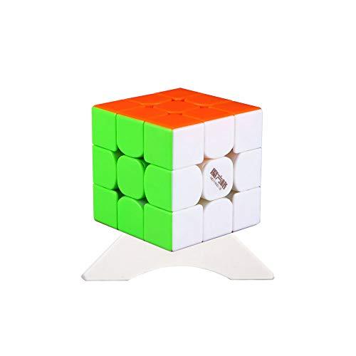 OJIN MO FANG GE Thunderclap V3 Donnerschlag V3 3x3 Speed Cube MoFangGe Leiting V3 Geschwindigkeit Denkaufgabe Drehpuzzle mit einem Würfelstativ (Stickerless)