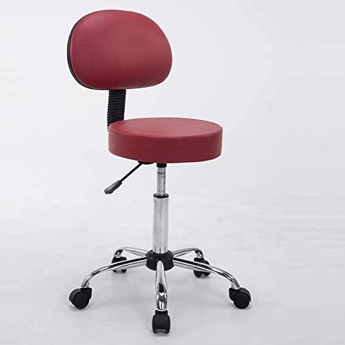 LHYLHY Bar Chair Office Back Drehstuhl Höhenverstellbarer Kaffeestuhl Clinic Tattoo Studio Beauty Salon Chair