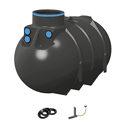 PREMIER TECH AQUA GmbH Regenwassertank Retention Blueline II 2600 Liter inkl. Drossel - Retentionszisterne, Zisterne für Retention