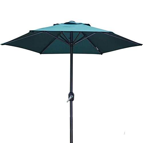 MFLASMF Housewares - Sombrilla de jardín (200 cm), color verde