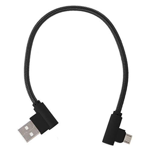 Cable USB diseñado para alimentar tu reproductor multimedia Google Chromecast HDMI de streaming desde el puerto USB de tu TV (paquete de 2)