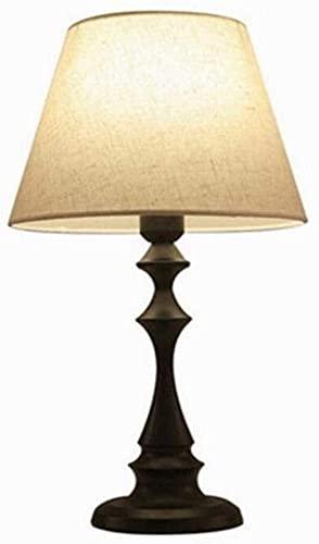 Lievevt Lámpara Escritorio La lámpara de cabecera con Control Remoto Simple y Elegante se Puede Usar en el Dormitorio y la Sala de Estar 1, A