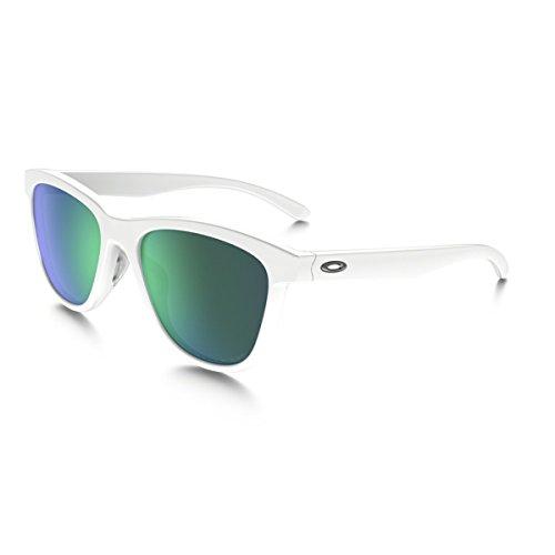Oakley Damen Sonnenbrille Moonlighter, Weiß (Polished White), 53