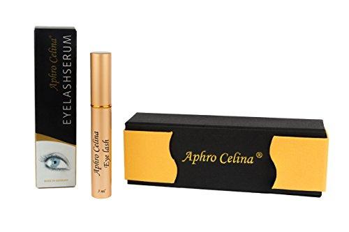 Aphro Celina® EYELASHSERUM - für das aktive Wachstum Ihrer Wimpern 3ml mit BeautyBox