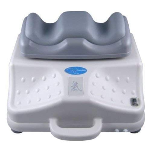 chi-enterprise Chi Vitalizer Classic Chi-Massage-Gerät I 3 Automatik-Programme & besonders leise I weich gepolsterte Fuß-Auflage I vitalisierende Chi-Maschine mit LCD-Regler I Qualitäts-Chi-Gerät
