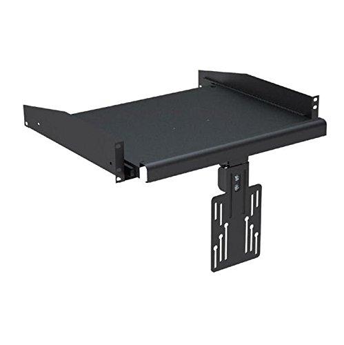 """KIMEX 110-0198 Bandeja para Monitor extraíble y enracable en Armario Rack 19""""- Altura 1U"""