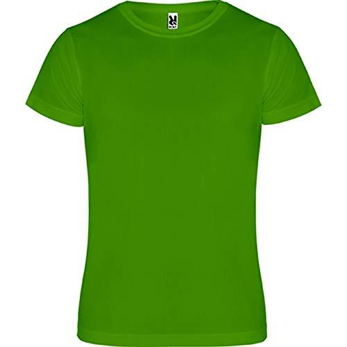 ROLY R0450 Camimera - Camiseta de manga corta para hombre (paquete de 5) Verde Felce 4 años