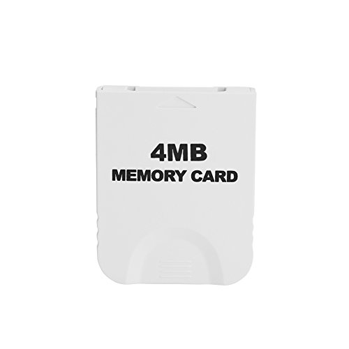 Memory Card for Nintendo Wii NGC GameCube Console 4MB-512MB ( Capacity : 4MB )