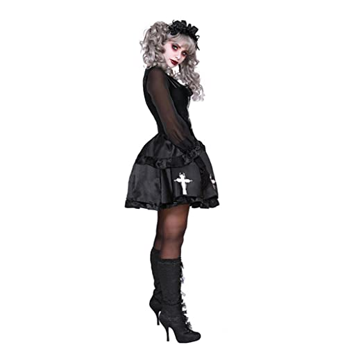 WLN Disfraz de anime para cosplay de Halloween, cosplay de Loli, fantasma, disfraz de payaso aterrador, para ropa de fiesta COS, disfraz de mascarada (tamao: L)